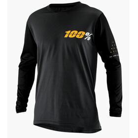 100% Ridecamp LS Jersey Men Charcoal